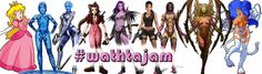 """""""Women are too hard to animate"""" jam - itch.io - Women are too hard to animate, or so they (Ubisoft) say. So anyone up for the challenge? This jam has only one rule: Female lead character. Any game with female lead qualifies, even a game you made before,  just make sure you have the rights to publish it. Deadline July 3rd. Go have fun! And share using #wathtajam =D For updates and/or questions follow @NoorStudios (Temporary Pin)"""