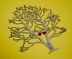 Valentines laser cut paper tree of love custom by PaperPolaroid, $15.00