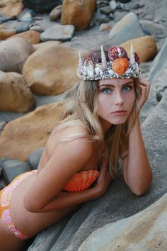 Mermaid Crown by Wild & Free Jewelry