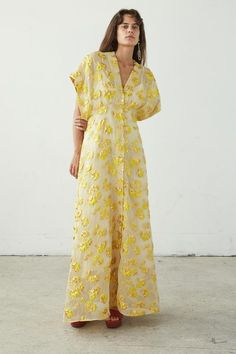 Rachel Comey Tendril Dress - Metallic Brocade on Garmentory Casual Dresses, Fashion Dresses, Summer Dresses, Rachel Comey, Dress Me Up, African Fashion, Dress To Impress, Style Inspiration, Womens Fashion