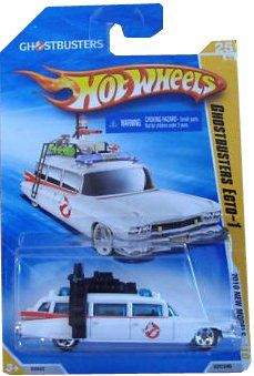 HOT WHEELS 2010 NEW MODELS 25 OF 44 GHOSTBUSTERS ECTO-1 WHITE WAGON @ niftywarehouse.com #NiftyWarehouse #Geek #Horror #Creepy #Scary #Movies