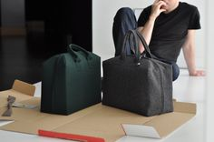 BUREL HAND BAG on Behance