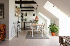 HOME: apartment in the Scandinavian style
