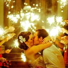 Wedding sparklers!!!!!