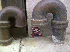LOL, He is a plumber!