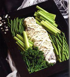 MUMMY veggies and dip
