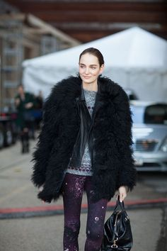 Street Style Fall 2013: New York #Fashion Week #NYFW