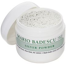 Mario Badescu - Silver Powder This treatment has helped dispel stubborn blackheads that have been hiding for years. Using Mario Badescu products daily has made it easier to clear pores with little effort. Mario Badescu Silver Powder, Perfume Carolina Herrera, Blackhead Remover, Blackhead Vacuum, Facial Care, Belleza Natural, Tea Tree Oil, Warts, 1 Oz