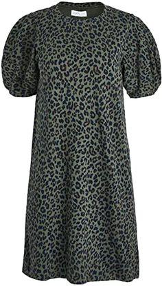 New Velvet Women's Arion Leopard Dress. leopard print sandals ($178)findtopgoods