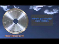 REBOLOS PARA VIDRO - REDIAM FERRAMENTAS DIAMANTADAS - YouTube #rebolodiamantado #ferramentas  #diamantada #rebolo #rediam #rebolodevidro