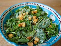Get Kale Caesar Salad Recipe from Food Network Giada Recipes, Salad Recipes, Cooking Recipes, Healthy Recipes, Healthy Salads, Healthy Options, Dinner Recipes, Recipes, Salad