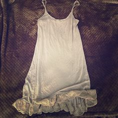Free people nude slip Came from the FP dress that already sold but I just found this slip. It has a tiny snag so I'm selling cheap. The lace is in perfect condition. Lovely  Free People Intimates & Sleepwear Chemises & Slips