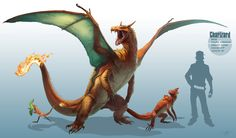 Realistic Charizard by arvalis at deviantART