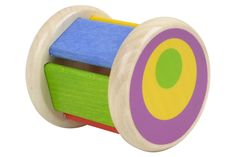 Tumbler - Discovery Toys Strengthen visual and motor skills with this engaging roller toy. Produces a fun clacking sound when shaken or rolled. Rolling ball graphic on end fosters early eye tracking. Discovery Toys, Motor Skills, Educational Toys, The Fosters, Tumbler, Maternity, Eye, Baby, Drinkware