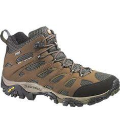 Moab mid Gore-Tex | I like Merrell shoes.
