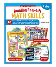 Take a look at this Building Real-Life Math Skills Paperback by Scholastic Teaching Resources on #zulily today!