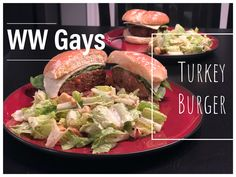 We always enjoy a burger so we use turkey to recreate the feel and beef condensed broth to make it beefy. Turkey Burger Recipes, Chicken Recipes, Skinny Recipes, Diet Recipes, Patty And Bun, Gay Guys, Weight Watchers Diet, Turkey Burgers, Stuffed Peppers