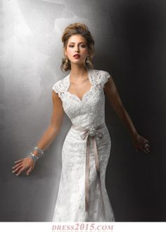 Satin and__ lace wedding dress lace wedding dress.