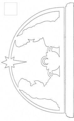 scroll saw patterns free templates - Nativity Diy How to Make Scroll Saw Patterns Free, Scroll Pattern, Cross Patterns, Wood Patterns, Pattern Art, Free Pattern, Christmas Stencils, Christmas Templates, Christmas Wood