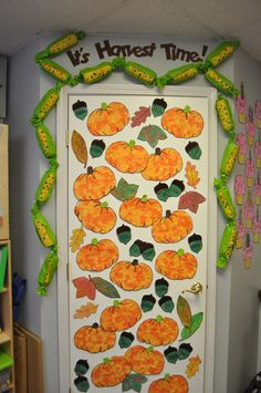 Pumpkins and acorns and corn, oh my!