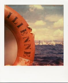 L'Ilienne #Marseille #bateau #Ilienne #GrandeParadeMaritime #MP2013 #mer #bouée #polaroid / www.marseillepolaroid2013.com