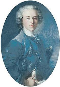 Louis-Alexandre de Bourbon-Penthièvre, Prince de Lamballe (1747-1768), Grand Veneur de France. Fils du Duc de Penthièvre et de Marie-Thérèse Félicité d'Este, mort prématurément d'une maladie vénérienne a l'âge de 20 ans.