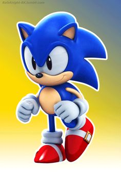 Classic Sonic - Running Animation by Elesis-Knight Sonic The Hedgehog Halloween, Hedgehog Day, Silver The Hedgehog, Shadow The Hedgehog, Sonic The Movie, Sonic Underground, Sonic Funny, Walt Disney Co, Classic Sonic