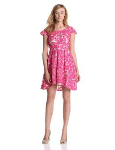 Yoana Baraschi Womens Night and Day Party Frock, Stone/Passion Pink, 10.  check discount today! click picture on top