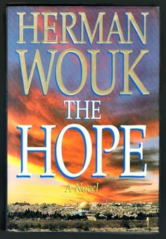 The Hope by Herman Wouk 1993 Hardcover English Suspense Thriller Mystery Novel