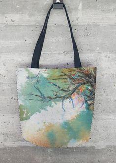 VIDA Tote Bag - Tranquility - Lily Pads by VIDA wvJu12