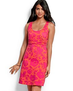 Tommy Bahama: NEW - Hot Hibiscus Tank Dress (# TW61762) $128.00