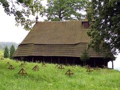 Topola wooden church - Poloniny National Park -