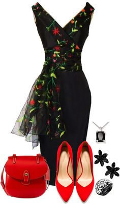 """Untitled #776"" by karen-keathley on Polyvore...This dress is gorgeous!"