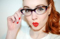 Frame Your Eyes With Cat Eye Glasses-