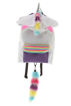 Unicorn backpack with hood I Am A Unicorn, Magical Unicorn, Rainbow Unicorn, Unicorn Birthday Parties, Unicorn Party, Visual Kei, Unicorn Rooms, Unicorns And Mermaids, Cute Backpacks