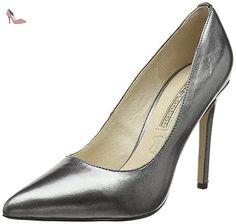 Buffalo London 15P53 5 Mercure, Escarpins Femme, Gris (Grafite 01), 38 EU - Chaussures buffalo (*Partner-Link)