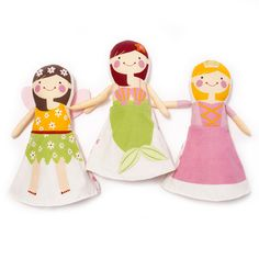 Our newest flip dolls created by Sophie