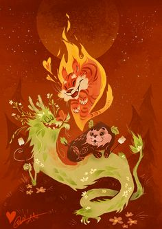 The Zodiac Campfire by Fairygodflea on DeviantArt