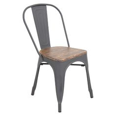 160$  Lumisource Oregon Dining Chair - Gray : Target