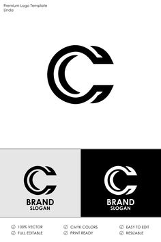 Letter C Logo Template 71279 is part of Letter logo design - Letter C Logo DesignYou can use it for many creative business companiesSupport work 24 hoursAll in CMYK color mode vector file fully editable Easy to edit Logo Branding, 2 Logo, Typography Logo, Branding Design, Website Templates, Logo Templates, Logo Inspiration, News Logo, Logo Minimalista