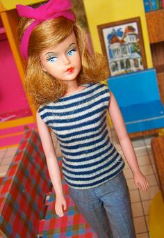 """Tressy - First introduced by British toymaker Palitoy in the early 1960s, Tressy was the doll with """"hair that grows."""""""
