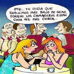 HUMOR: El Camarero