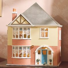 Buy dolls house kits from the online dolls house superstore. We stock traditional victorian dolls houses, georgian dolls house kits and modern dollhouse kits basements Dollhouse Kits, Modern Dollhouse, Dollhouse Miniatures, Ikea Dollhouse, Antique Dollhouse, Dolls House Shop, Doll Houses, Tiny Houses, Villas