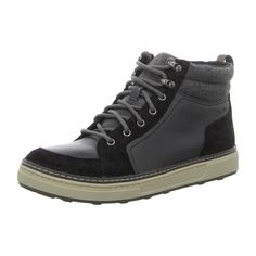 NEU: Clarks Sneaker Schnürer LorsenTop - 261098337 - black -