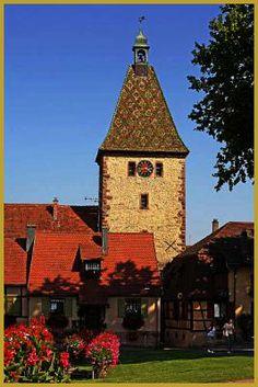 Bergheim,  Route des vins , Alsace