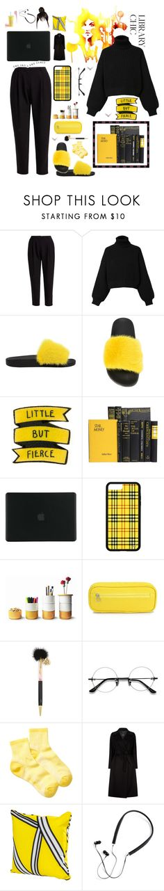 """""""Library chic"""" by brookecaldwell ❤ liked on Polyvore featuring WtR, Diesel, Givenchy, Tucano, Dedal, Betsey Johnson, EyeBuyDirect.com, Timberland, Weekend Max Mara and Polaroid"""