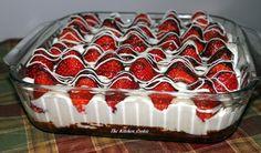 TheKitchenCookie: Chocolate Covered Strawberry Brownies