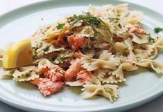 It just isn't a backyard party without a large bowl of an easy pasta salad recipe. Smoked salmon makes this dish EVERYTHING.