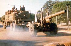 SADF artillery piece brought for Border War.