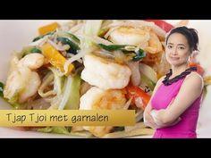Zelf thuis Tjap Tjoi met garnalen maken - YouTube